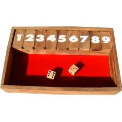 Le Shut the box (fermer la boite)
