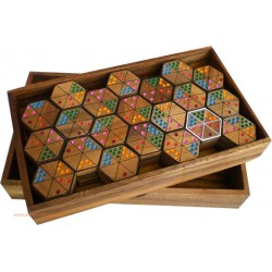 Le Domino hexagonale