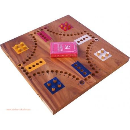 Le Jeu de toc 4 joueurs grand Modèle Luxe 16 trous