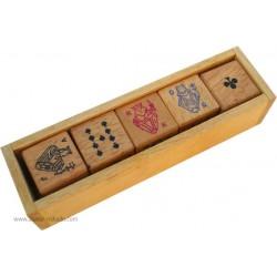 Set de dés Poker