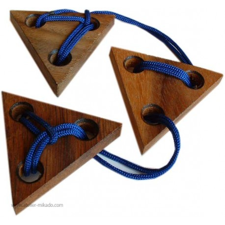 Les trois triangles