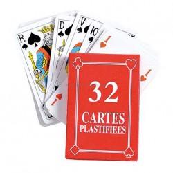 Jeu 32 cartes standard