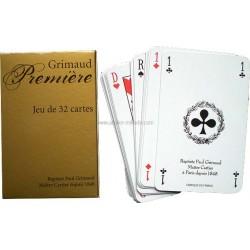 Jeu 32 cartes Belote Grimaud Première