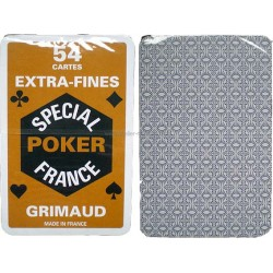 Jeu 54 cartes Grimaud Poker Extra fines