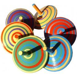 Les Toupies Spirales (boite de 6)