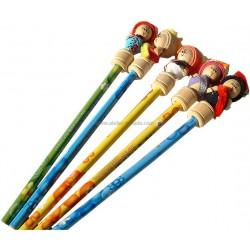 Les Crayons Poupées (pack de 5)