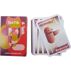 Jeu 54 cartes pour jeu de Toc ou Tac tick
